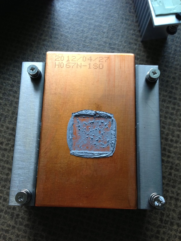 GTX 670 Gainward heatsink