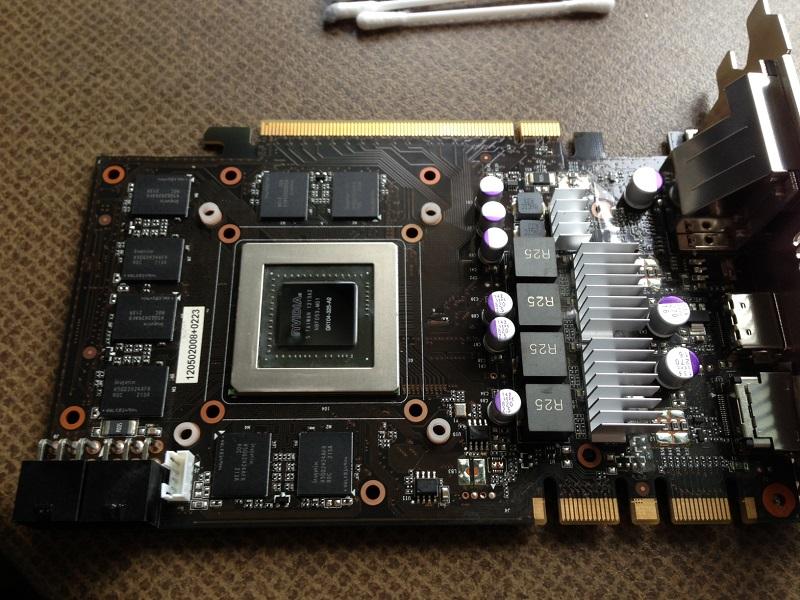 GTX 670 VRAM Heatsink