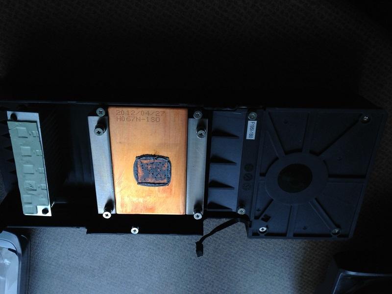 GTX 670 Gainward heatsink 3