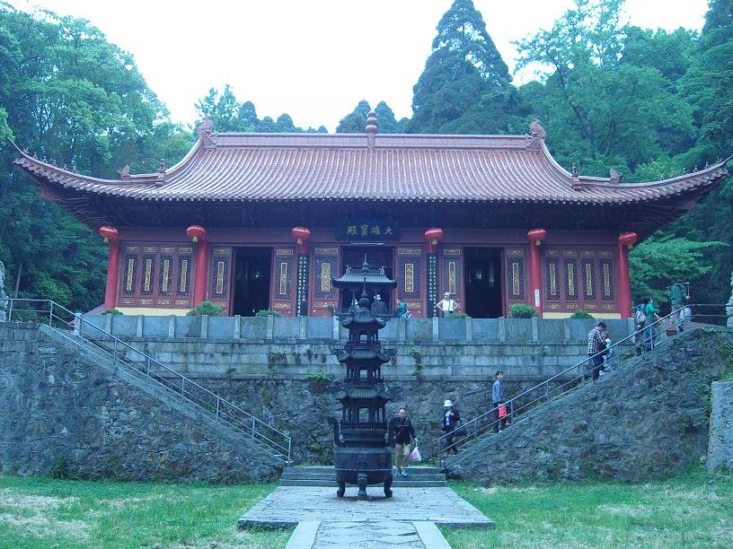 Un temple de 庐山 (Lu Shan)
