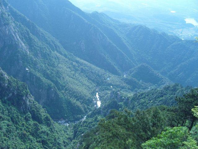 Une vue de 庐山 (Lu Shan)