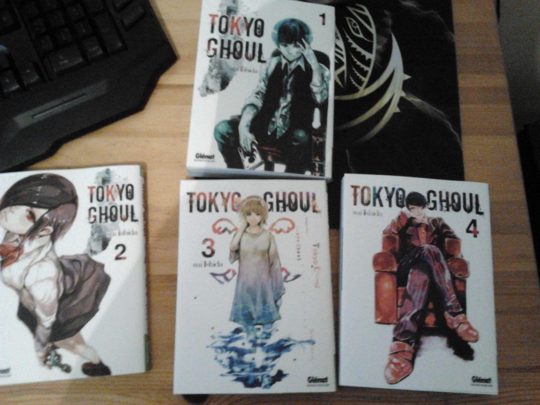 Tome 1 à 4 Tokyo Ghoul