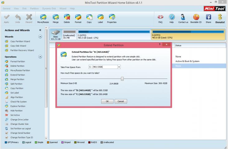 logiciel partition