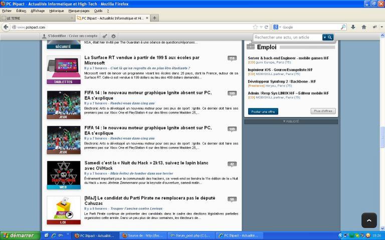 Bug forum