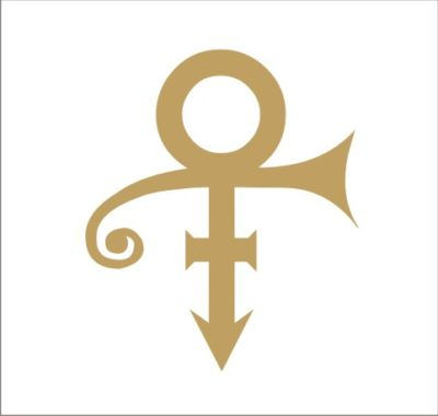 vinyl decal prince symbol gold sign laptop sticker 305 P