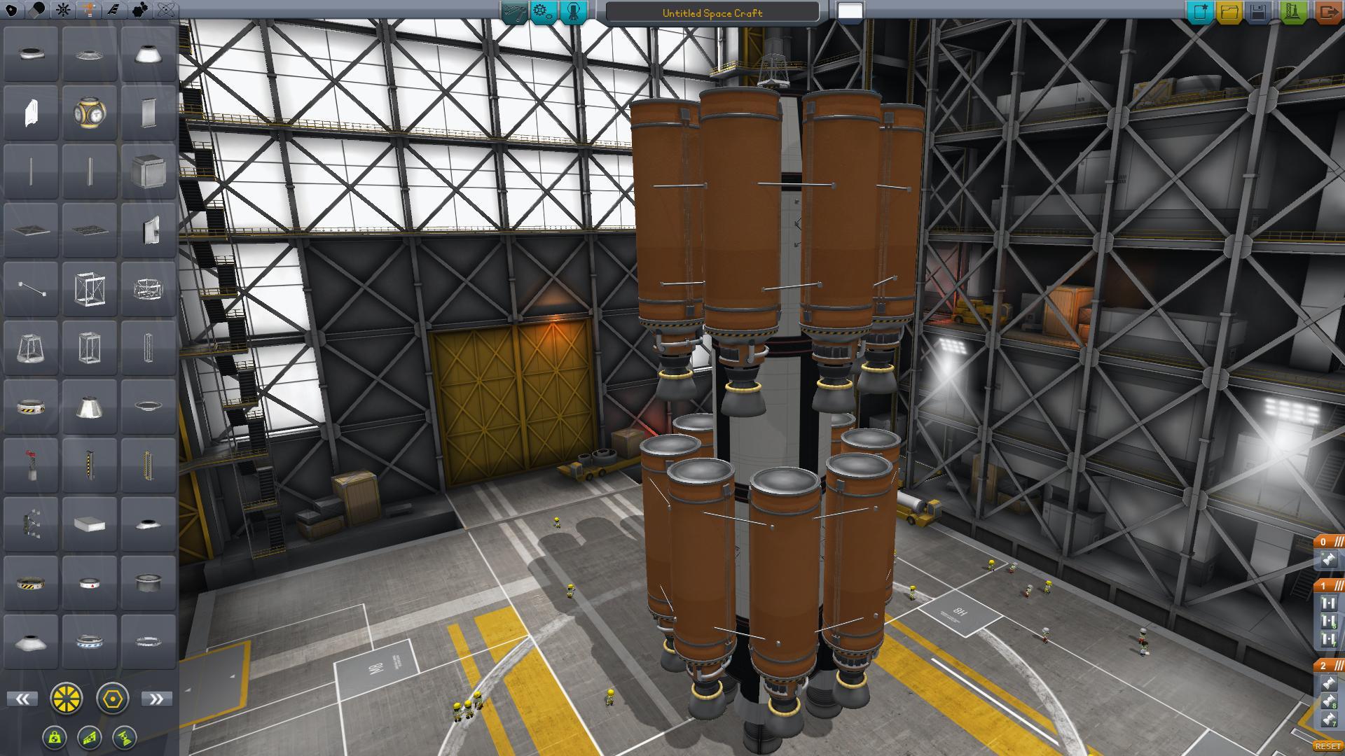 test fusée KSP