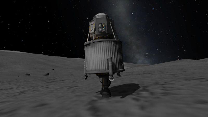Un Lapin dans l'espace