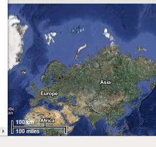 La vision des échelles de cartes par Google Maps
