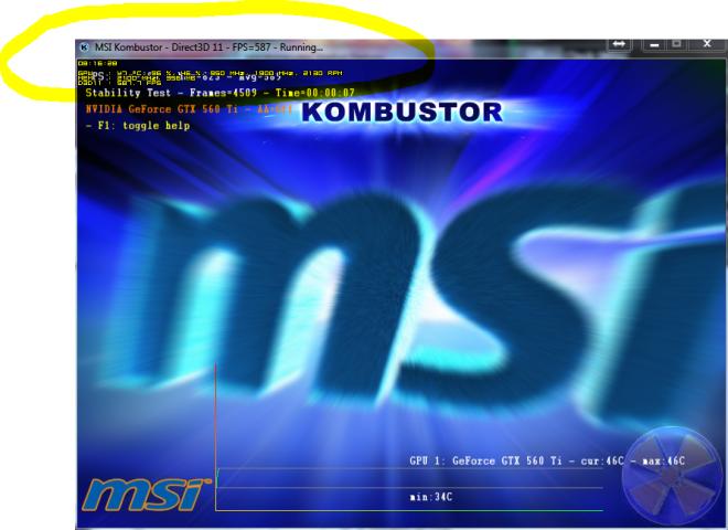 OSD RTSS avec Afterburner