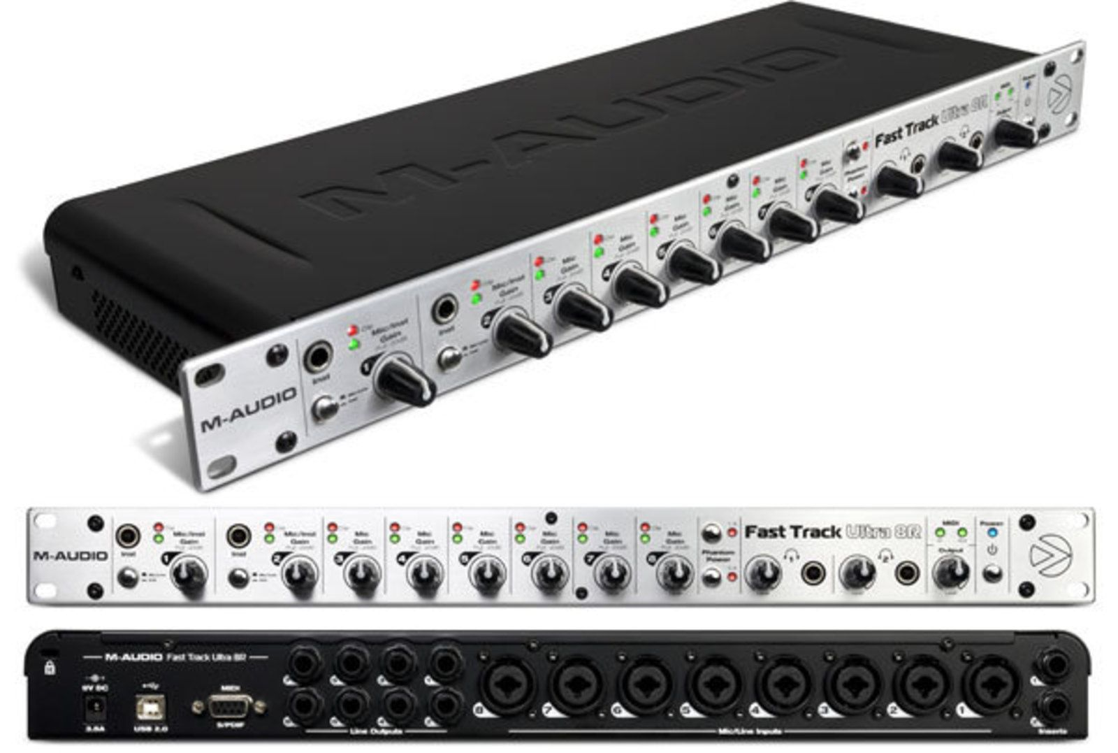 M audio fast track ultra 8r 711530