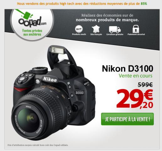 Nikon pas cher