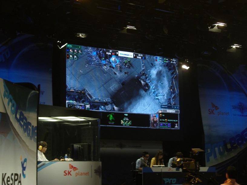 KT contre EG_TL sur SC2 à Séoul