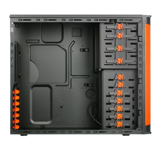 Xigmatek Asgard II black orange 2
