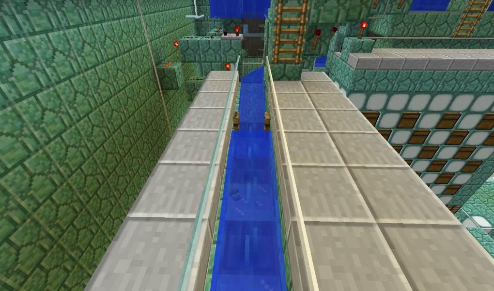 canal pour les cristaux