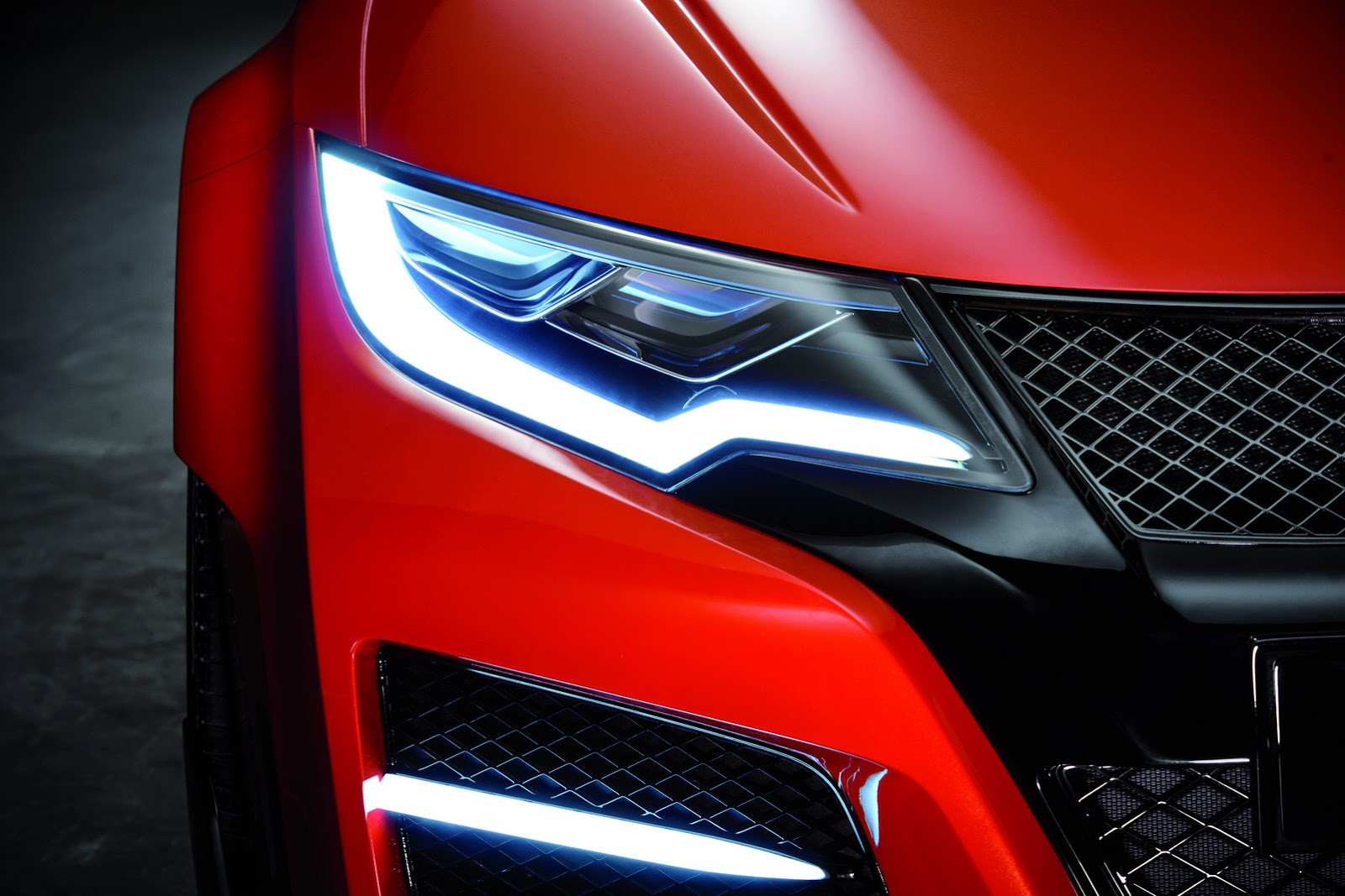 Honda Civic Type R Concept LED
