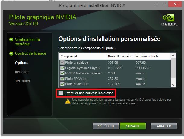 Nvidia install