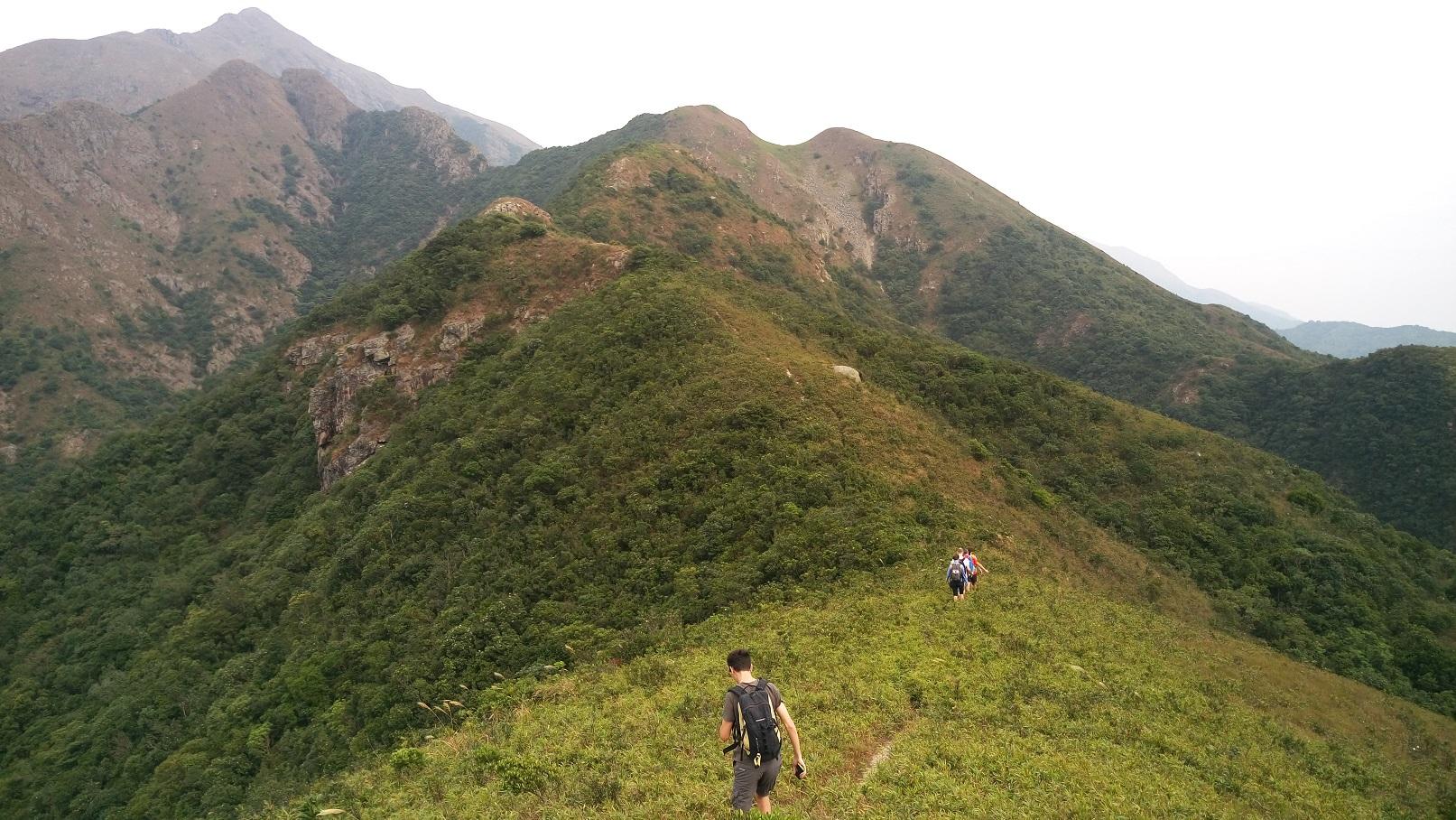 Ballade le long des crêtes sur Lantau Island