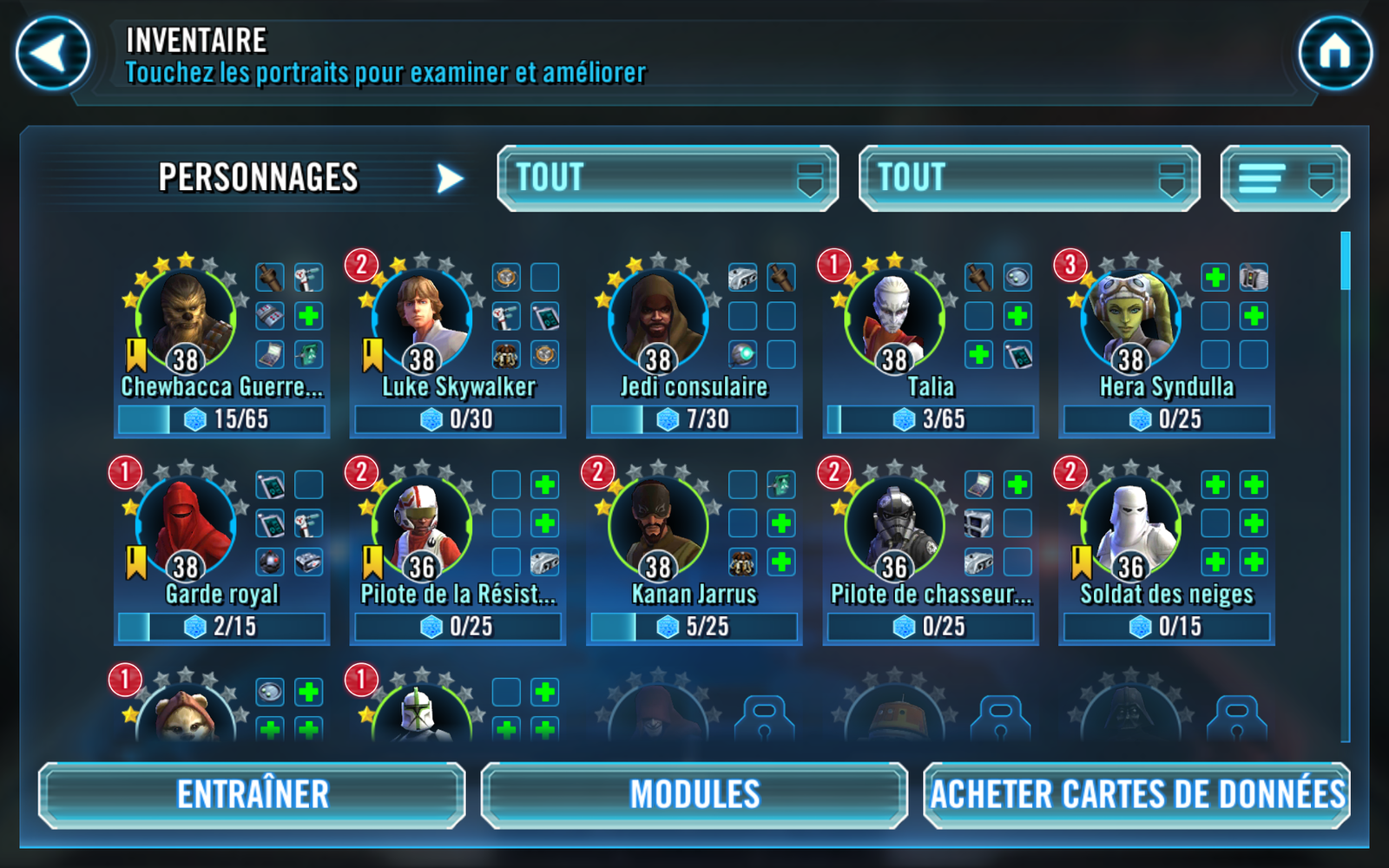 StarWars Galaxy of Heroes