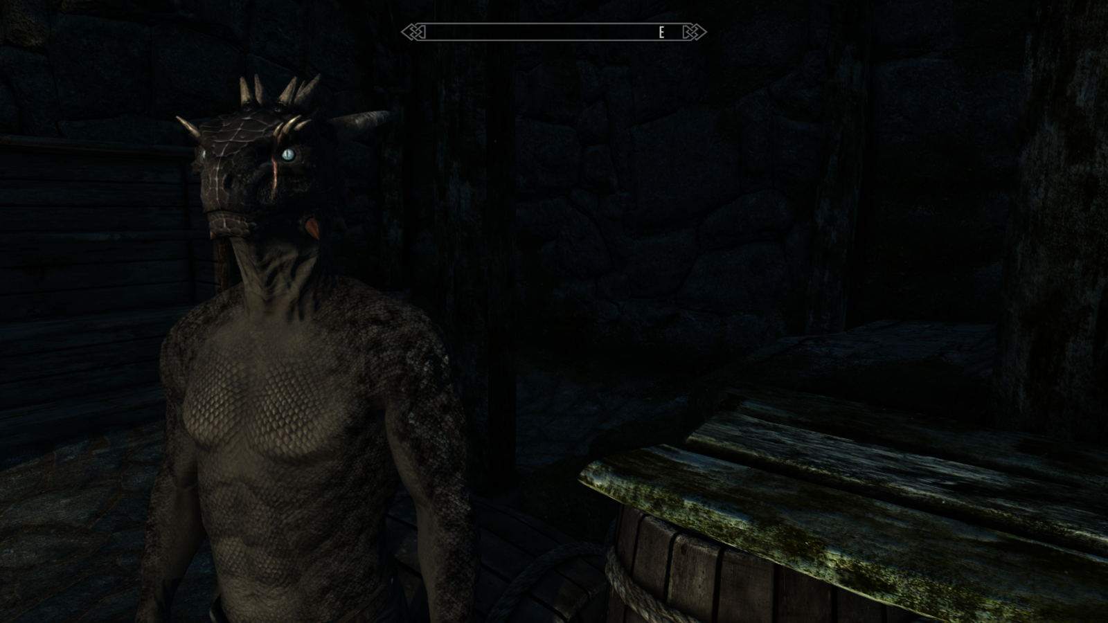 Male dragonic argonian texture