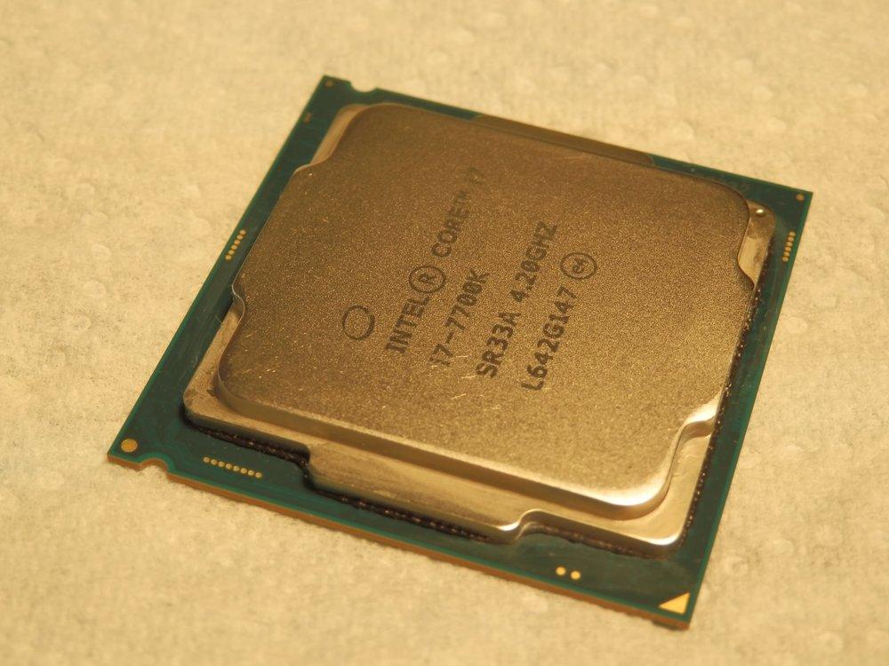 bavure silicone Intel