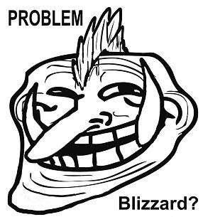 blizzard troll