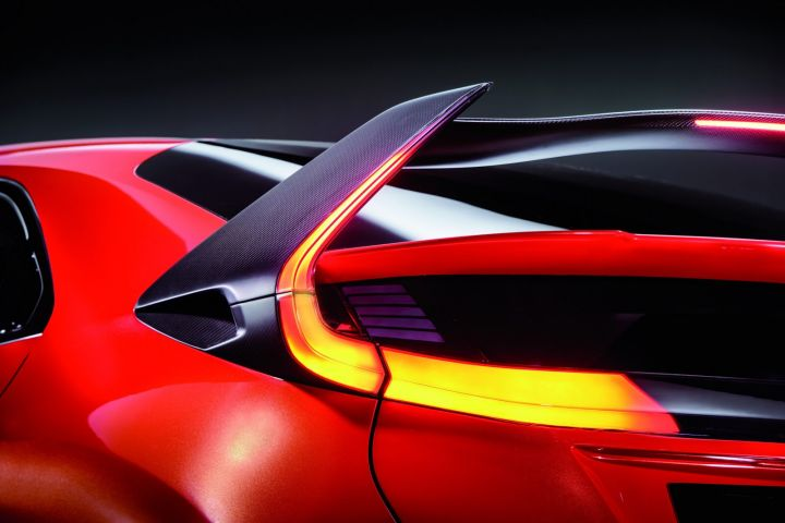 Honda Civic Type R Concept aileron Ar