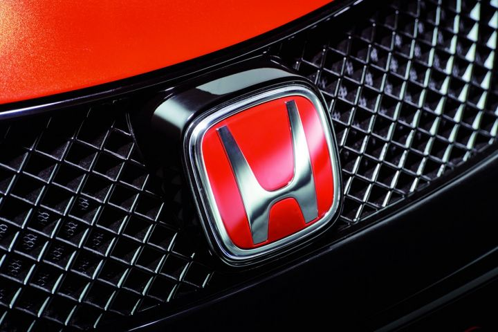Honda Civic Type R Concept logo rouge
