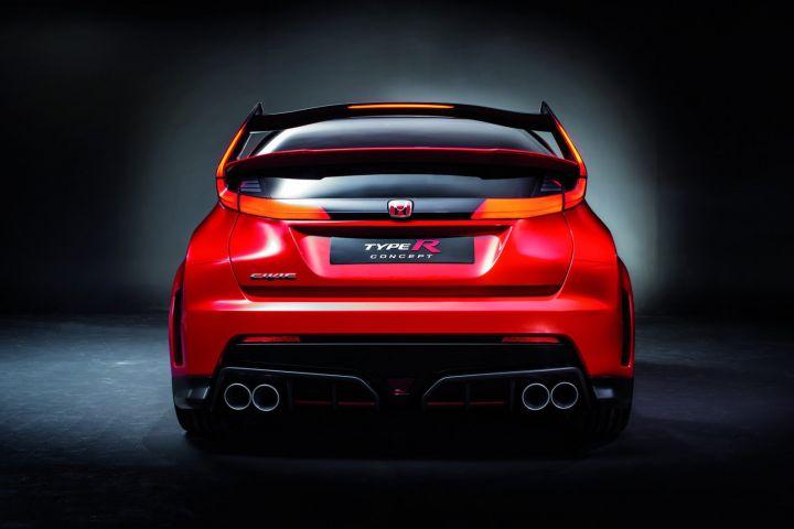 Honda Civic Type R Concept poupe
